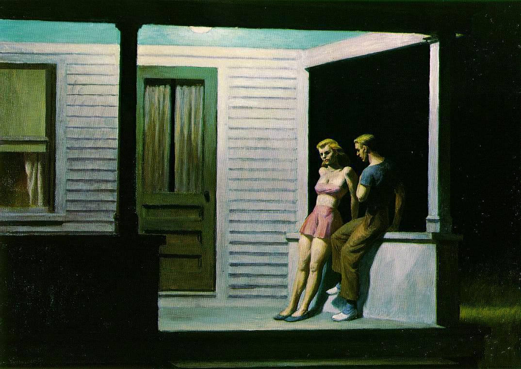 Летний вечер, 1947