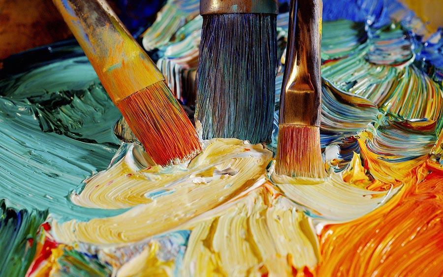 13 Растворить засохшую краску на кисти. Кто-то забыл помыть кисточки после краски? Щетина склеилась
