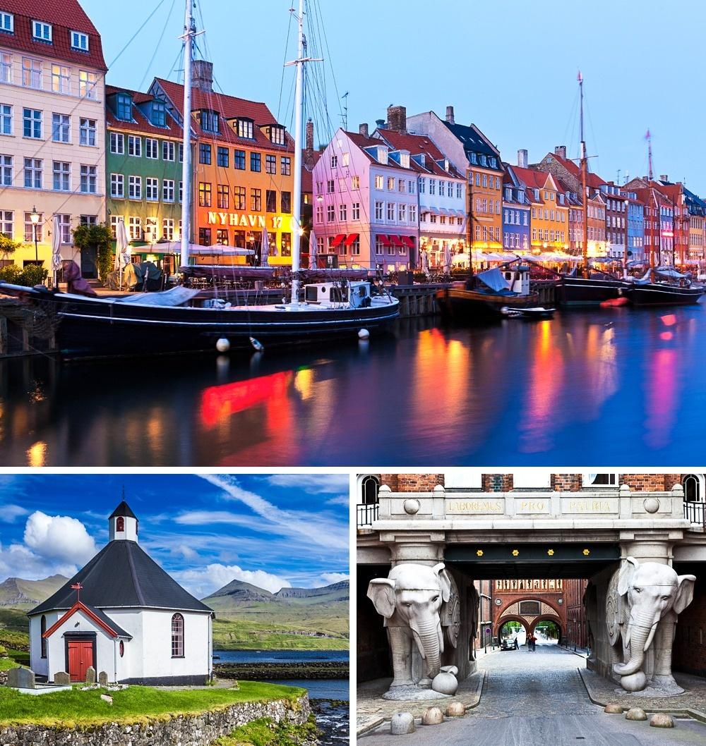 © depositphotos  Дания является государством всеобщего благосостояния, вкотором образование и