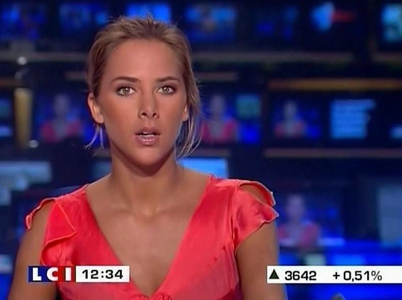 5. Телеведущая Франции — Мелисса Тёрьо.