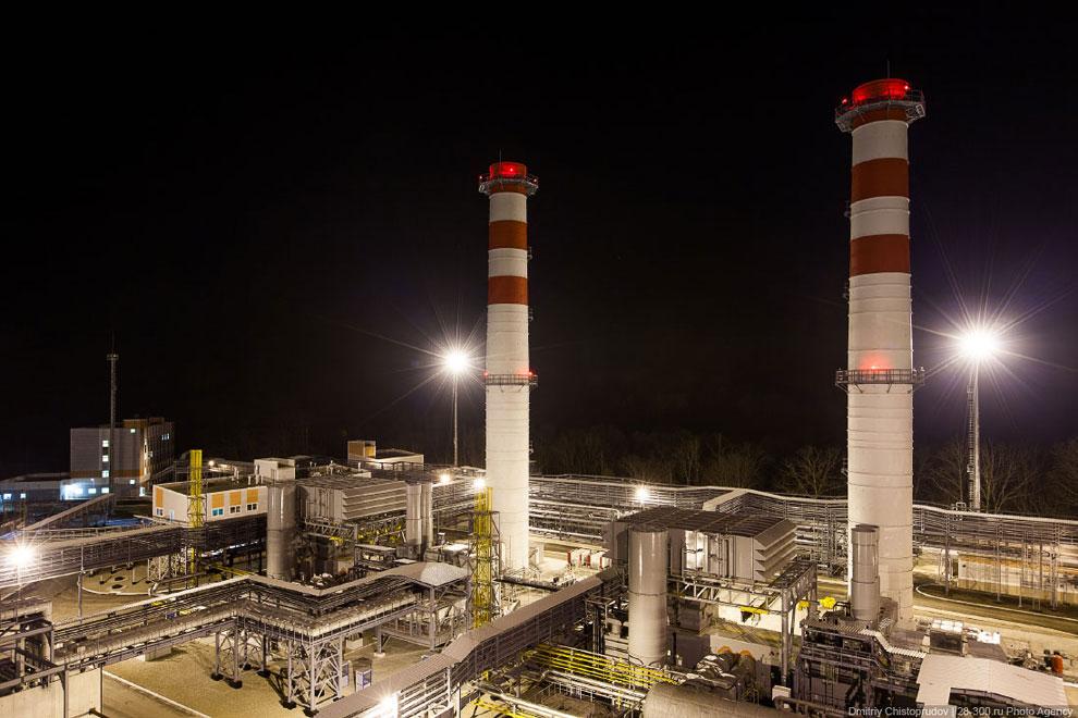 Согласно оценке воздействия на окружающую среду в пределах зоны влияния Джубгинской ТЭС концент