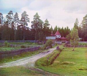 Успенский скит. Леушинский монастырь. 1909 год