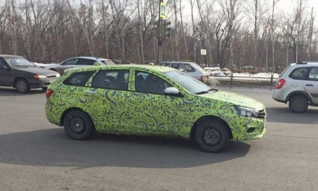 Ижевский автомобильный завод отправит Лада VestaSW наконвейер вначале лета