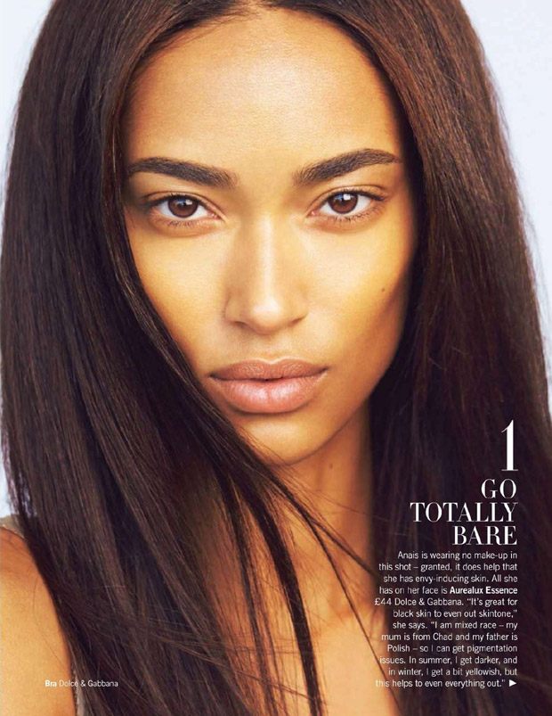 Anais Mali for Glamour UK by Max Abadian