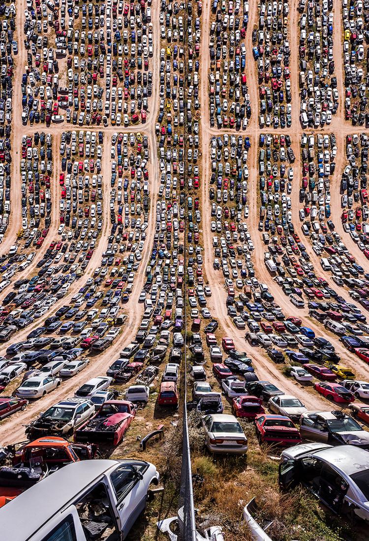 Stunning Bent Photographs of Texas
