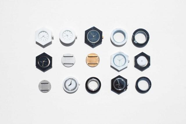 Geometric Marble Watch