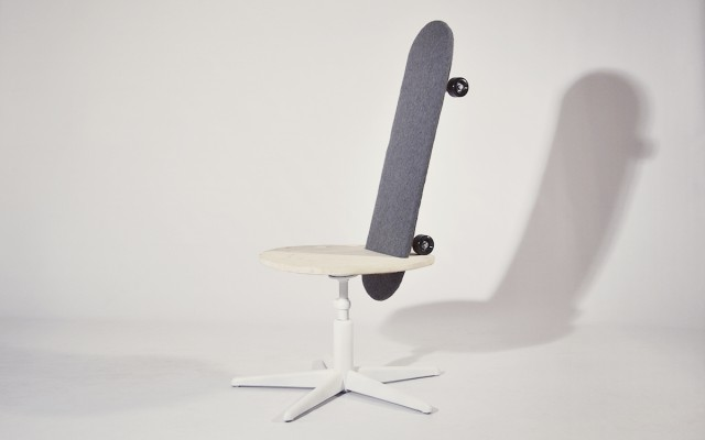 The Skate Chair (10 pics)