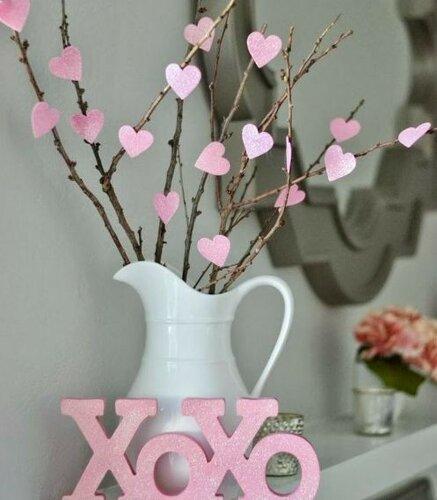 Как украсить дом к Дню Святого Валентина