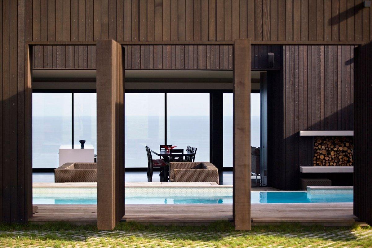 Резиденция на пляже Муриваи в Новой Зеландии