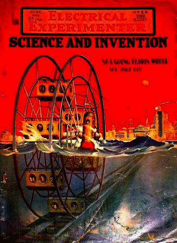 Electrical Experimenter: 1920 June - - Book Cover