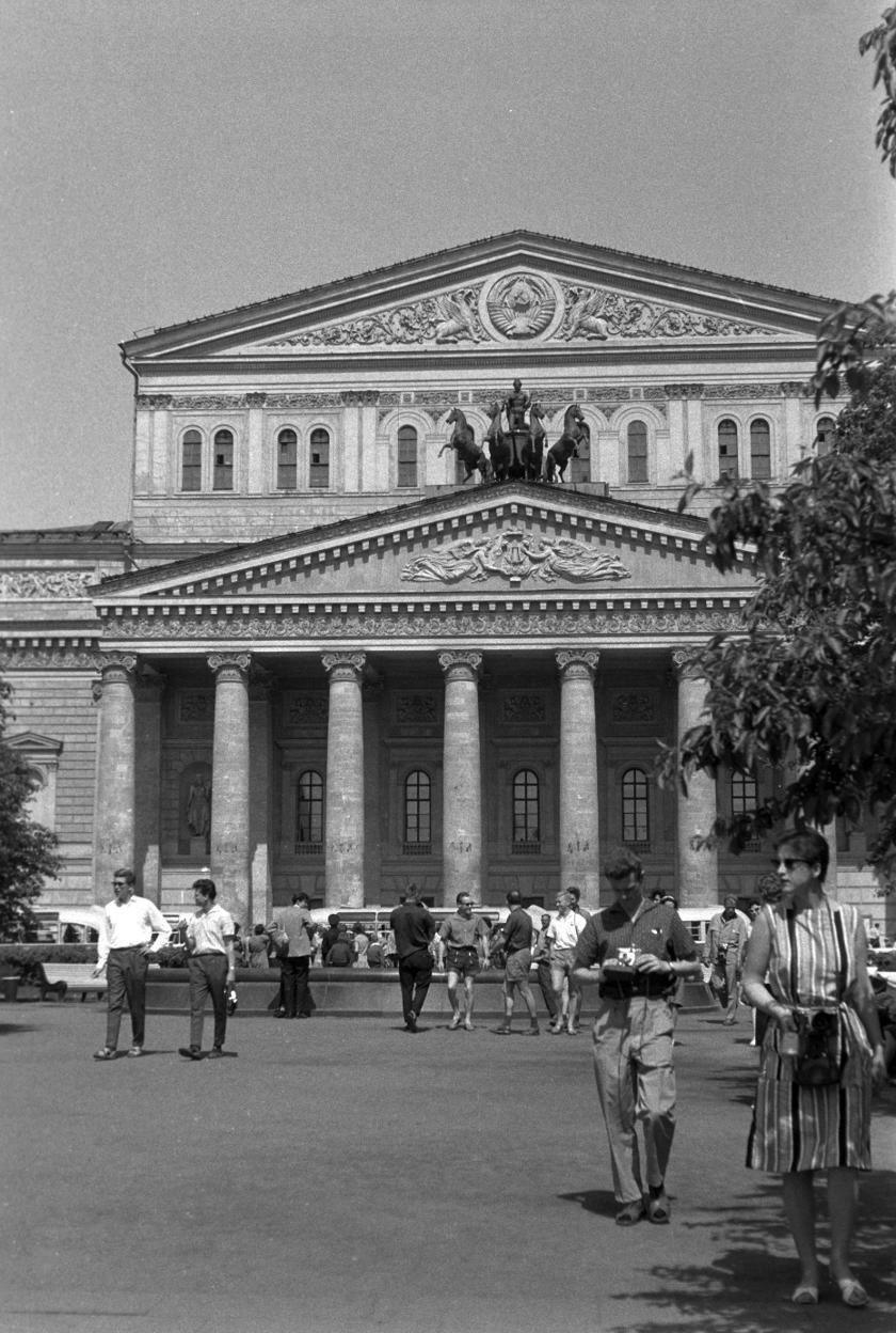Большой Театр Союза ССР.  Foto: Manfred Uhlenhut. Июнь, 1964