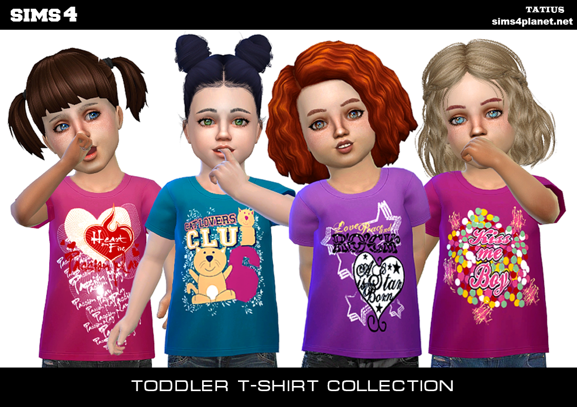 Tatius. Toddler T-Shirt Collection