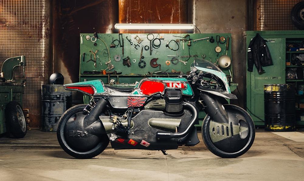 Vibrazioni Art-Design: кастом Moto Guzzi Audace Vertigo