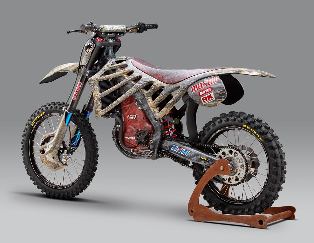 Кроссовый электроцикл Mugen E.Rex