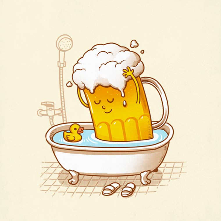 Pop Culture - 32 nouvelles illustrations droles et decalees de Ben Chen