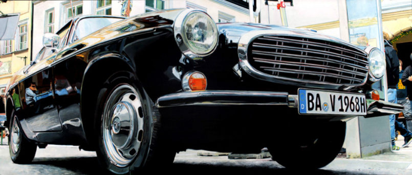 Realistic Vehicle Paintings by Andreas Maul
