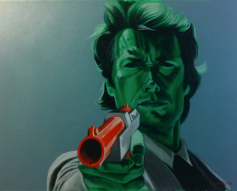 Pop Culture Paintings by Jared Yamahata