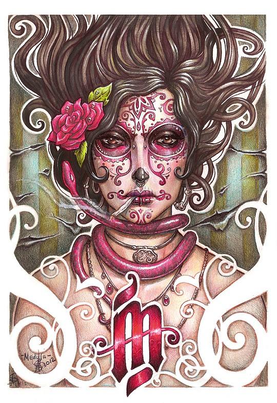 Brilliant Set of Illustrations by Asuncion Macian Ruiz