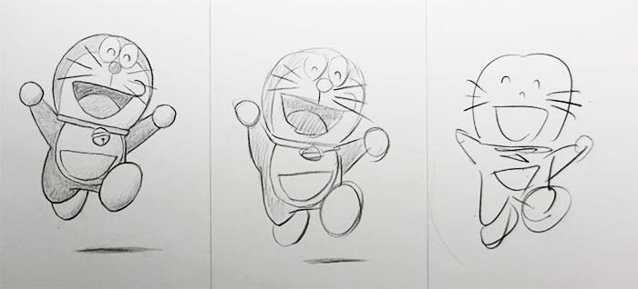Um desafio convida artistas a desenharem em 10 min, 1 min e 10 seg