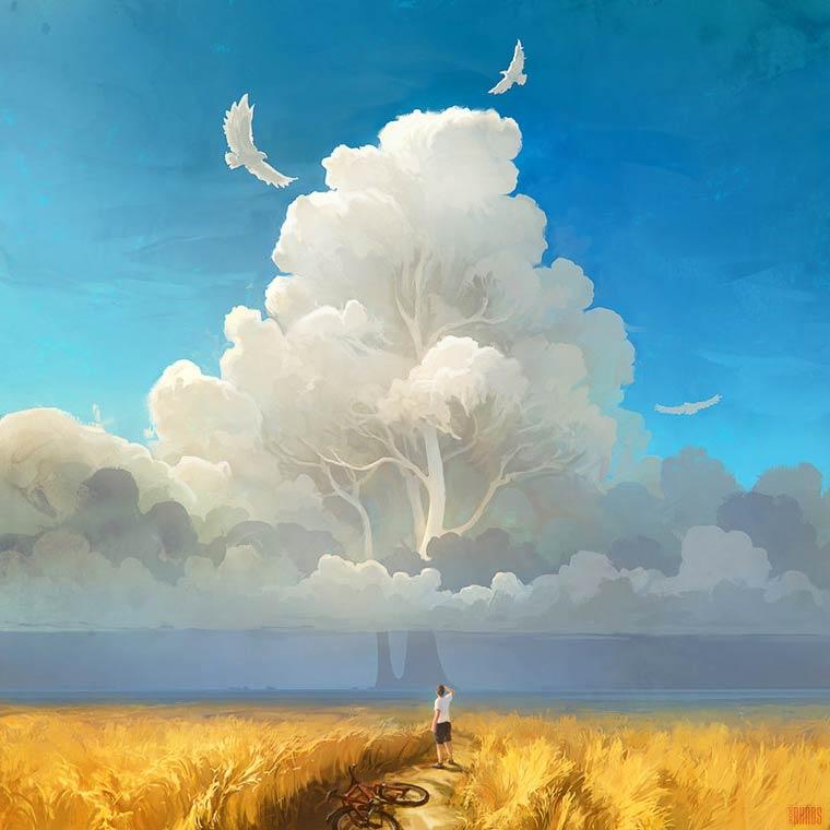 Beautiful World - Les illustrations poetiques et surrealistes de RHADS