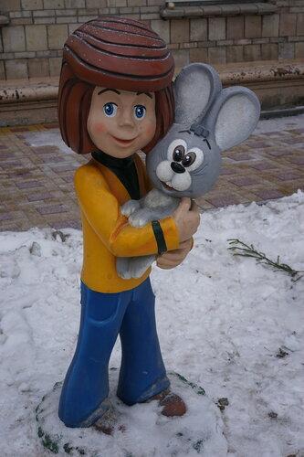 Дядя Фёдор и заяц