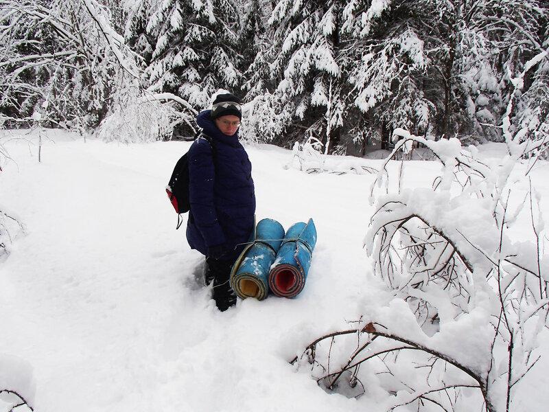 пеший поход с палаткой зимой при беременности третий триместр