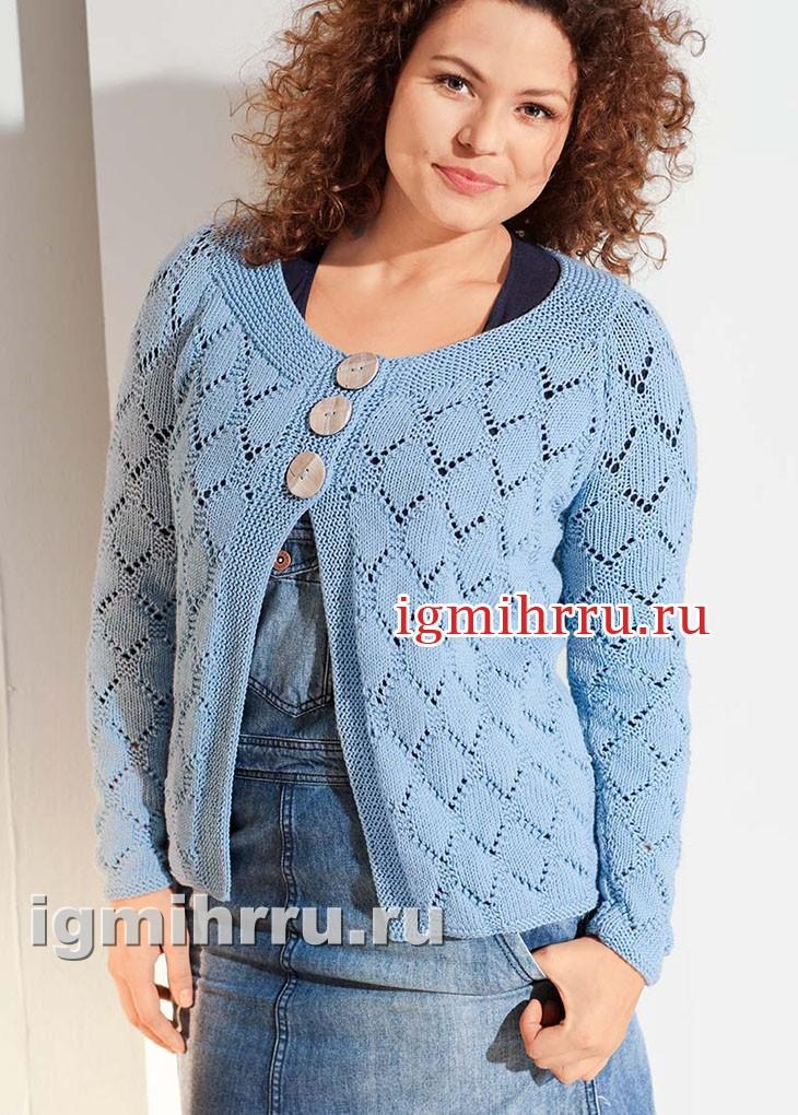 Вязаные свитера спицами : схемы, описания вязания 19