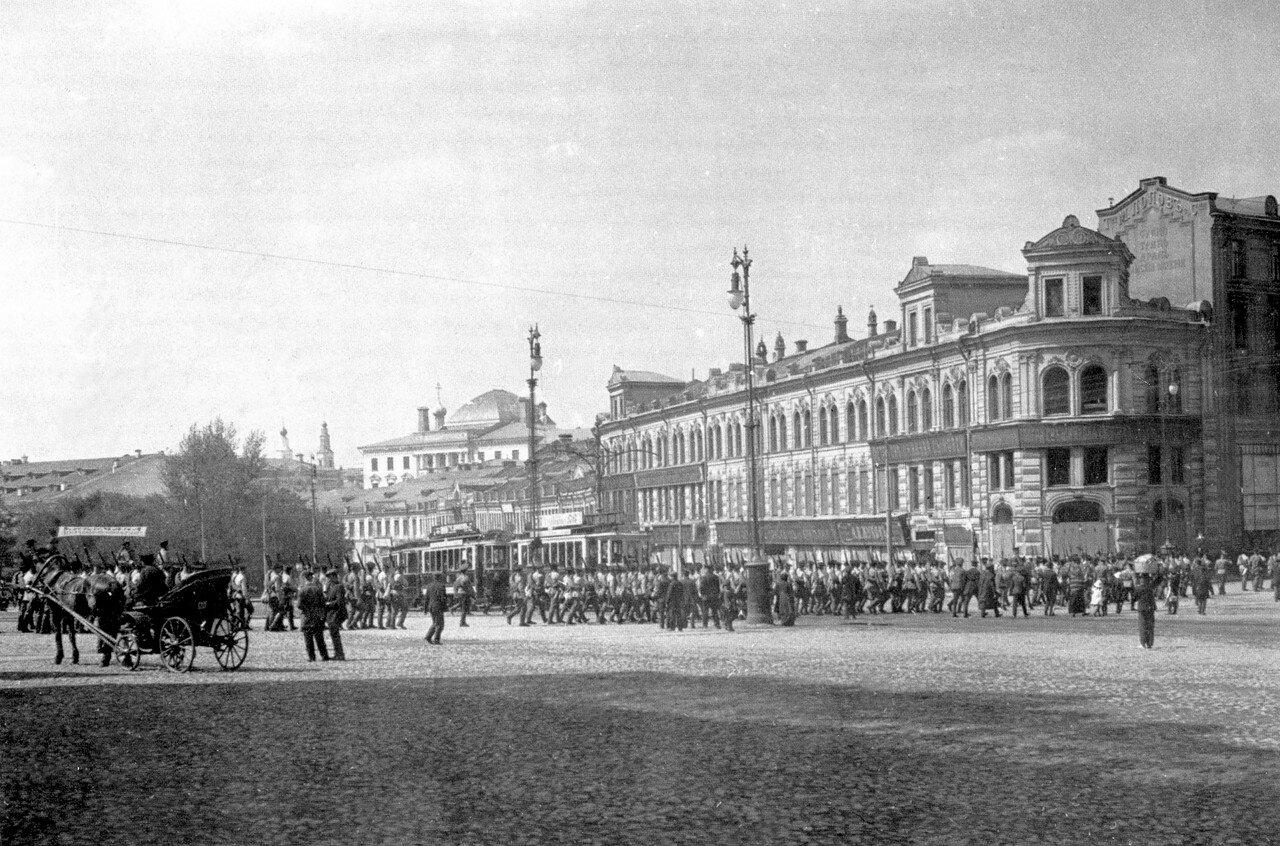 Воскресенская площадь и Неглинная улица. 1914