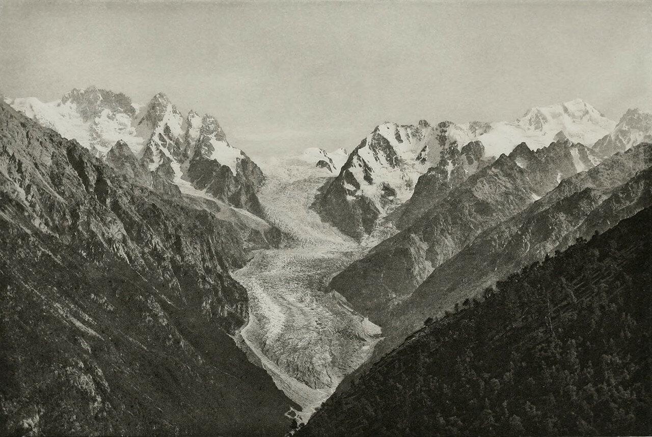Ледник Карагам и Бурджула