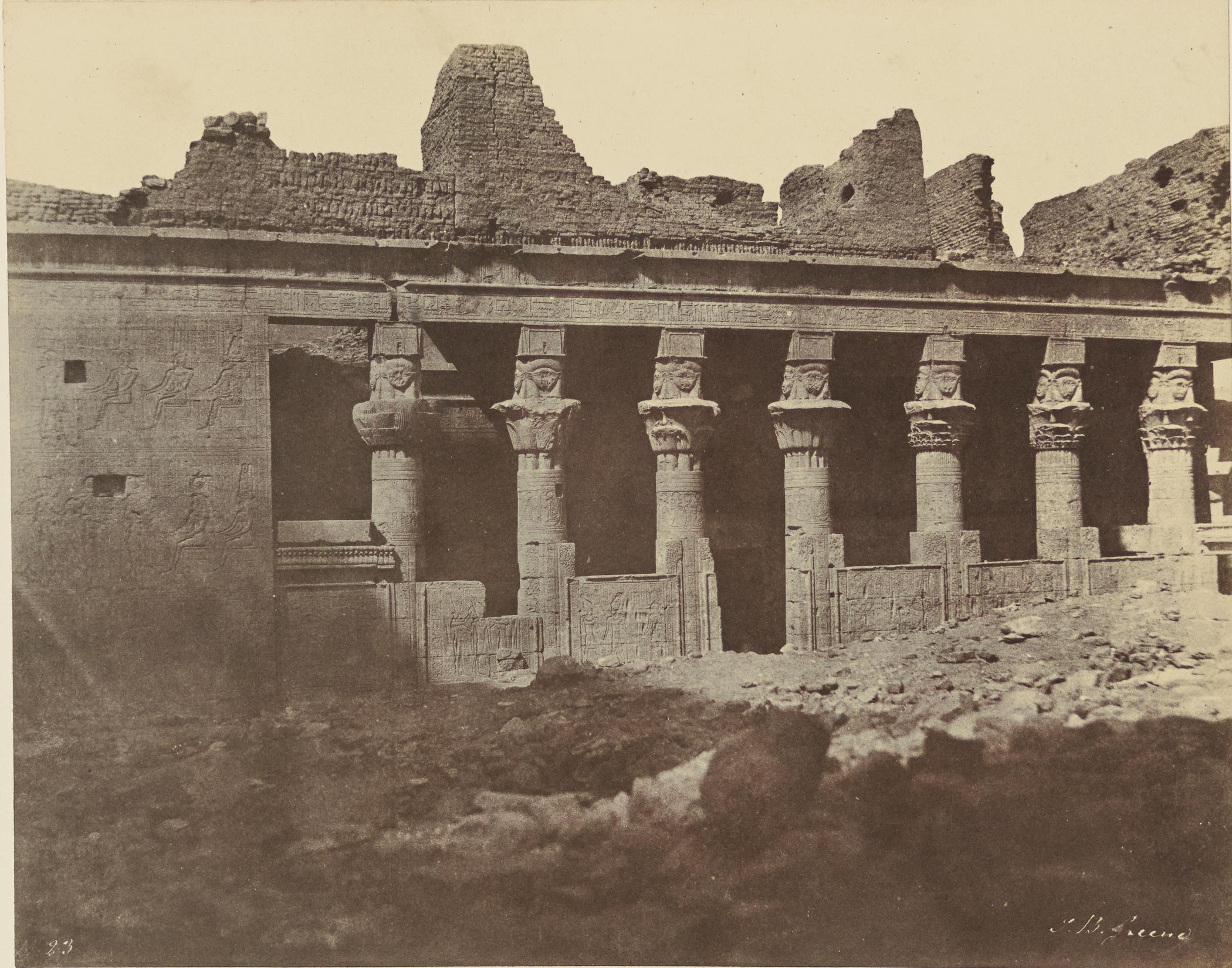 Филе. Храм Исиды