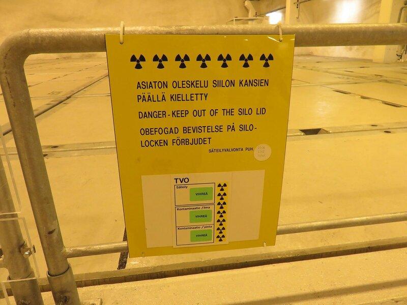 Внутри существующего хранилища РАО в Финляндии. Фото: Александр Колотов