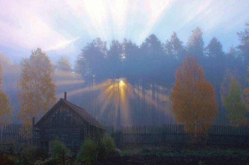 Утро в Сыростане.