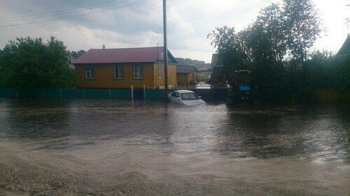 Проливные дожди затопили дома и улицы Чадыр - Лунги