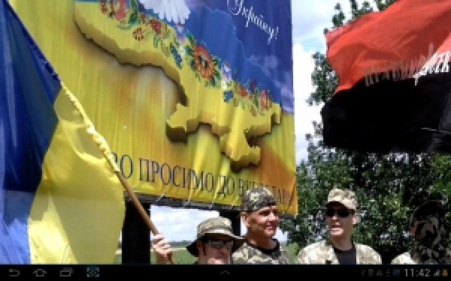 В Донецкой области поддержали мукачевских повстанцев
