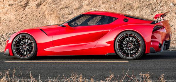 Toyota выпустит гибрид модели Supra