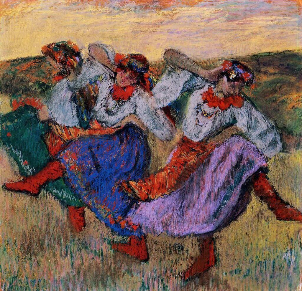 Russian Dancers - circa 1899 - Museum of Fine Arts - Houston (USA).jpg