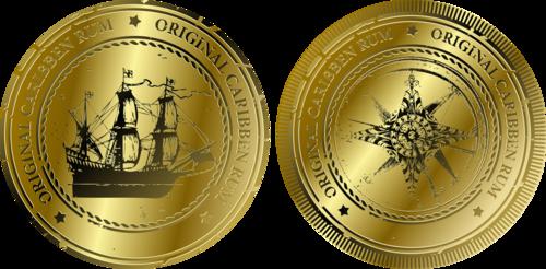 морские монеты