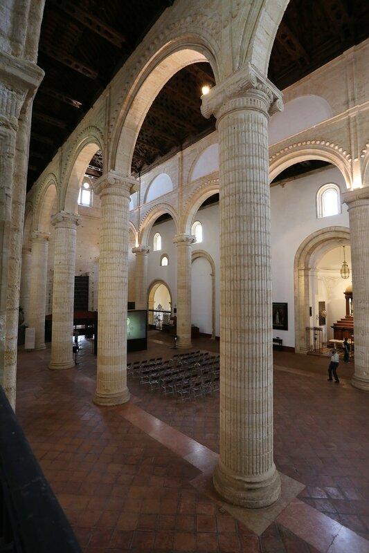 Антекера. Королевская церковь Святой Марии (Real Colegiata de Santa Maria la Mayor). Интерьеры