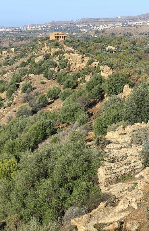 Агридженто, Долина храмов. Виды с холма Юноны