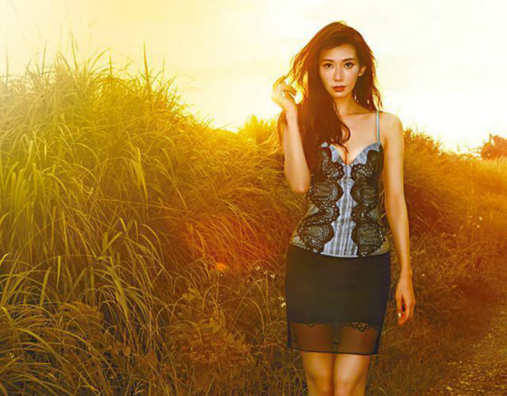 Тайваньская модель и актриса. Ее невероятно быстрое восхождение на тайваньский Олимп шоу-бизнеса даж