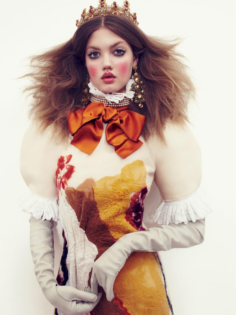 20. Линдсей Виксон С 15 лет эта девушка строит модельную карьеру и снимается для Vogue, и это несмот