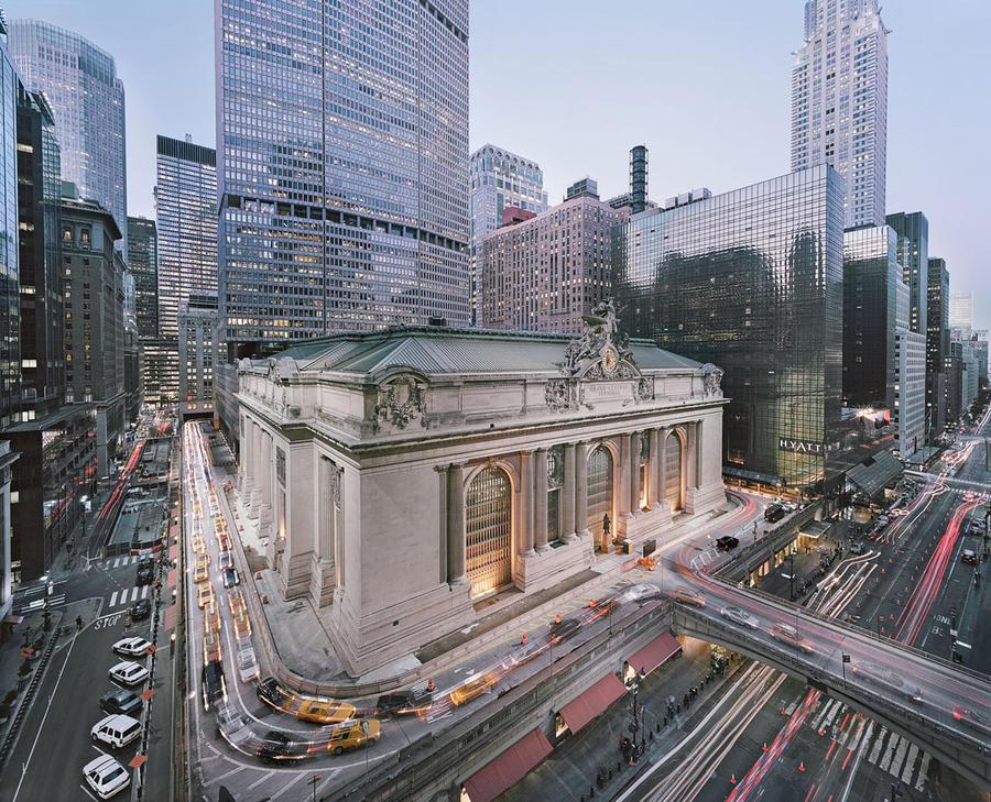 2. Вокзал Grand Central Terminal в Нью-Йорке, США Этот старейший вокзал Нью-Йорка находится в средне