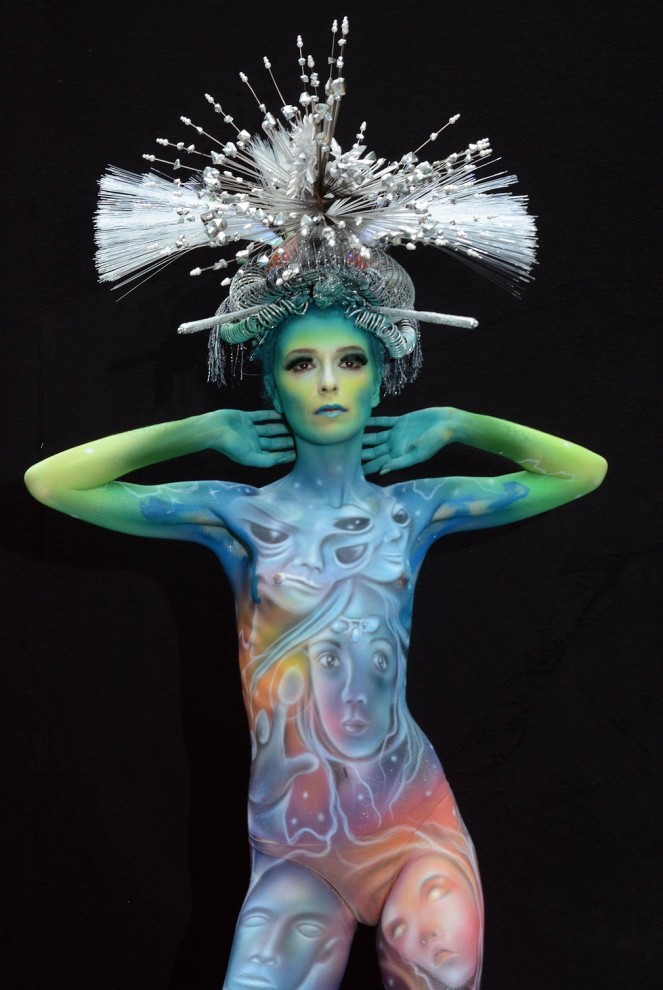 Мастер боди-арта: Giovanna Patane, Италия.