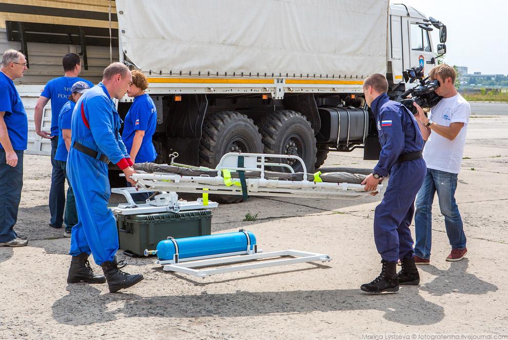 9. До появления медицинских модулей тяжело пострадавших при катастрофах перевозили на реанимоби