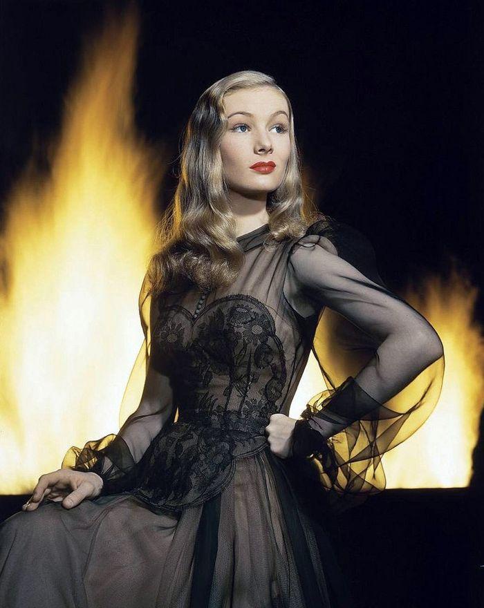 Актриса Вероника Лэйк. Фото Eliot Elisofon, 1942 год.