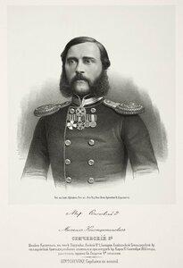 Михаил Константинович Семчевский, штабс-капитан, в чине поручика легкой 1-ой батареи Кавказской Гренадерской артилле