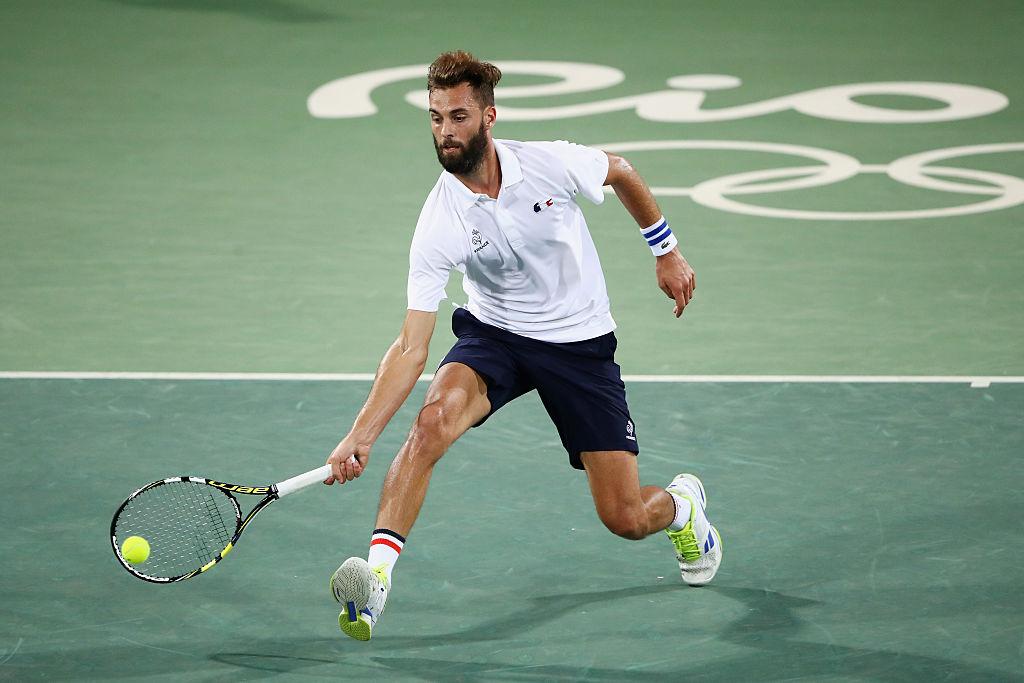 Французский теннисист отчислен изолимпийской сборной занеподобающее поведение