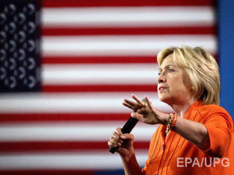 Хиллари Клинтон обратилась кизбирателям всвоём твиттере