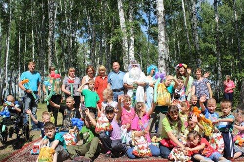 праздник для чумаковцев в Незабудке