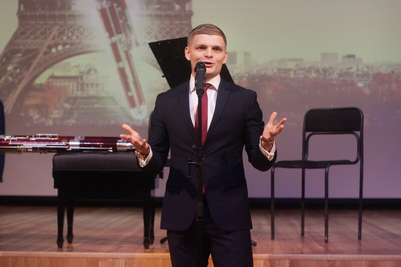 Презентация контрфагота, Саратов, филармония им.Шнитке, 19 декабря 2016 года
